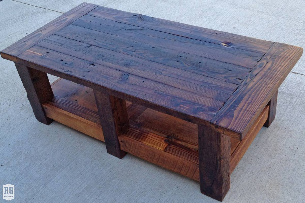 Shabby Chic Barn Door Table Bench Coffee And End Table Rustic Grain