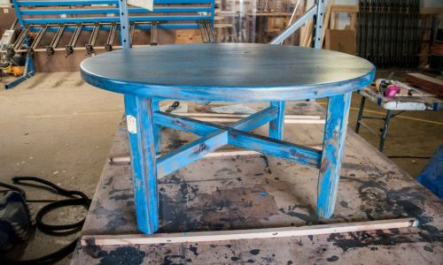 Hughes Coffee Table Finished Full View