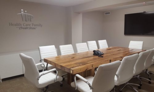 Conference Table staged
